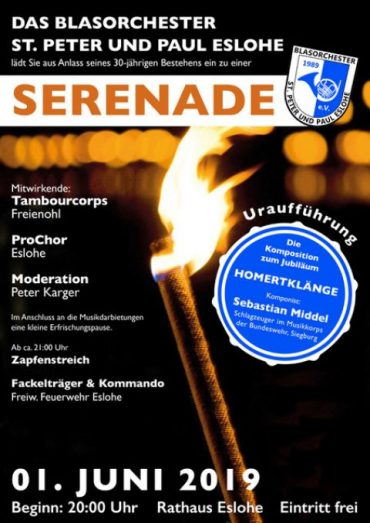 Serenadenkonzert am 01.06.2019 in Eslohe