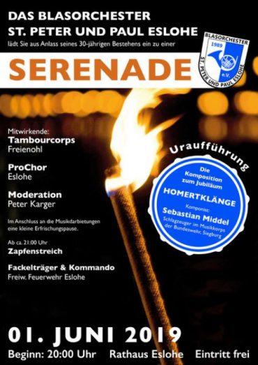 Serenadenkonzert am 01.06.2019 in Eslohe